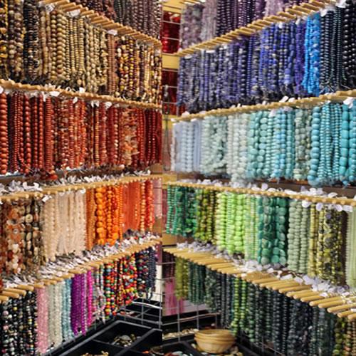 A Range Of Gemstone Beads