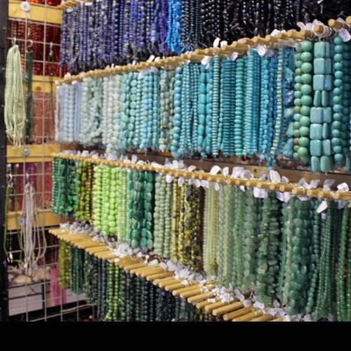 A Range Ofgemstone Beads