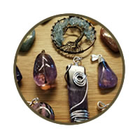 A Selection Of Gemstone Pendants